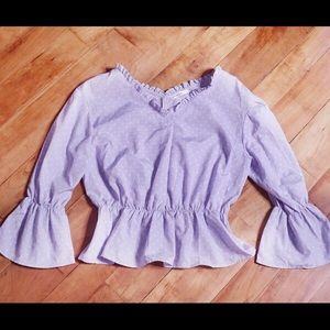 continuer de NICE CHAUP Peasant Style Blouse